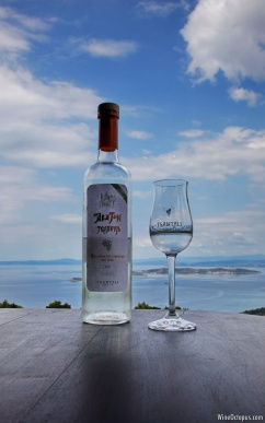 One of the best spirits we've tasted recently, the traditional Greek Tsipouro