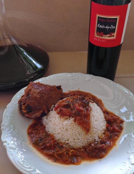 A legendary Greek Red Wine: Tselepos Kokkinomylos Merlot 2005